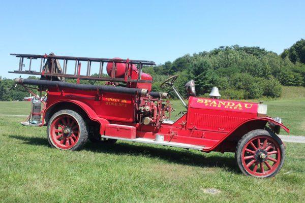 photo of an American La France Fire Truck