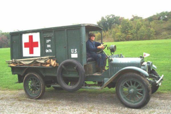 photo of a Columbia Ambulance