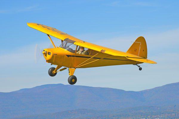 Photo of Piper Vagabond in Flight
